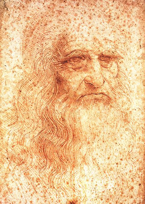 Self Portrait, Leonardo da Vinci