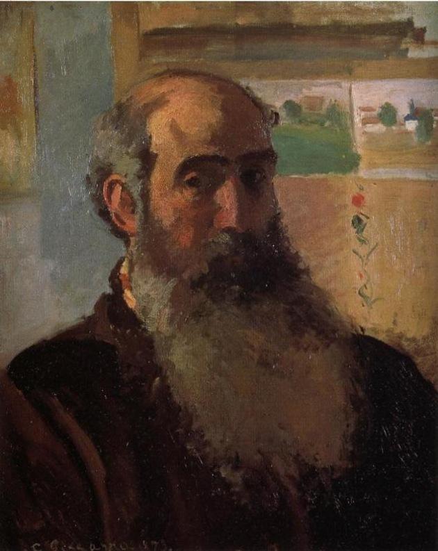 Self Portrait 1, Camille Pissarro