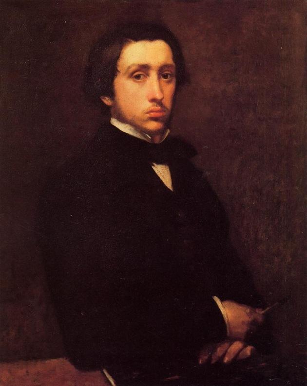 Self Portrait, Edgar Degas
