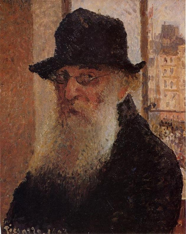 Self Portrait 3, Camille Pissarro