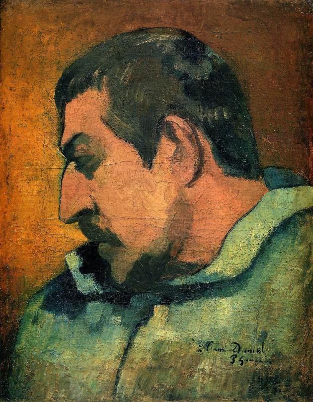 Self-Portrait,Paul-Gauguin